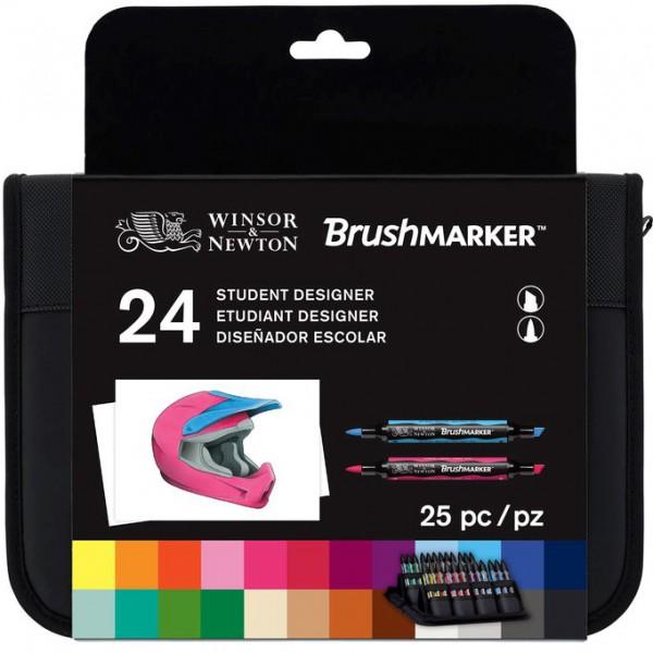 Brushmarker 24 Set - Student Designer Winsor & Newton